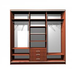 Wedrobe-compartments