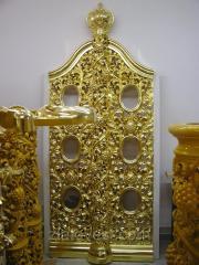 Царские врата, иконостас резной