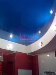 Натяжной потолок для ванной комнаты,Оптоволоконное