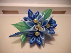 Flower on a clip Winter freshness