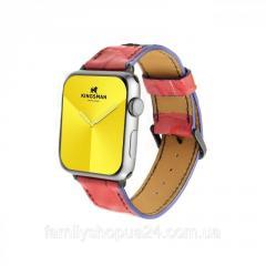 Ремешок для Apple Watch из натуральной кожи ручной