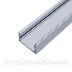 Профиль алюминиевый BIOM накладной ЛП7 6.5х15