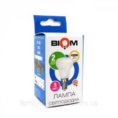Светодиодная лампа BIOM BT-552 R39 5W E14 4500K