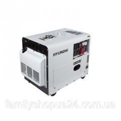 Генератор дизельный HYUNDAI DHY 6000SE-3 5000 Вт