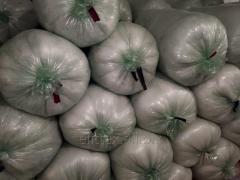 Силиконизированные шарики, холлофайбер второй сорт( белый)