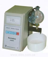 The analyzer of somatic cages in COMATOC Pass milk