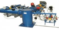 Установка для поверки промышленных счетчиков газа