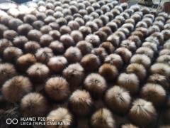 Fur pompons