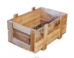 Ящики и коробки деревянные