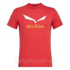 Футболка чоловіча Salewa SOLIDLOGO DRI-REL M Red