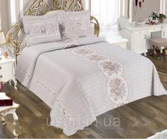 Жаккардовое покрывало с бахрамой Тм My Bed 240х260