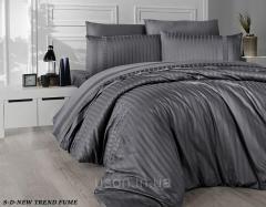 Комплект постельного белья сатин delux first...