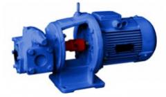 Gear NMSh pumps, Sh