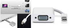 Adapter of Apple Mini DisplayPort to VGA Adapter