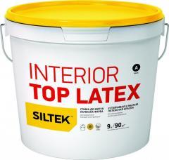 Краска Interior Top Latex латексная стойкая к