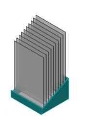Expozitory-vitriny steklozerkalny BR51