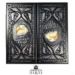 Деревянные нарды ручной работы, арт. Н-027
