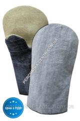 Перчатки х/б с брезентовым наладонником джинсовая