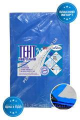 Тент 2х3 серо-голубой плотность 60 г / м2