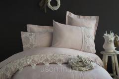 Комплект постельного белья сатин с вышивкой и