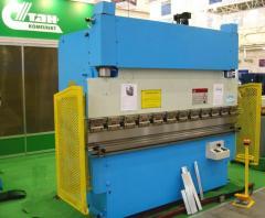Press listogibochny hydraulic hand-operated: LG
