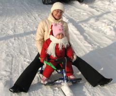 Сані для снігоходів