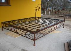Кованые кровати,кованая мебель,интерьер