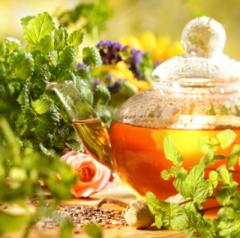 Tea black, green, grass Heritage