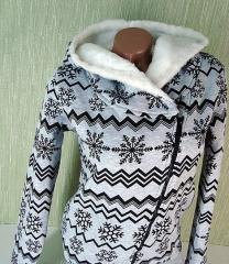 Warm sports suit A255112 snowflake