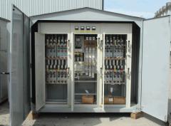 Integral transformer substation