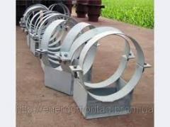 Опоры, узлы крепления, подвески для трубопроводов