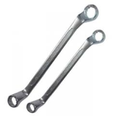 Cap wrenches cranked