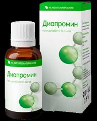 Диапромин- капли для улучшения здоровья диабетиков