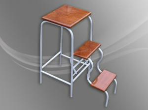 Short flight of stairs stool