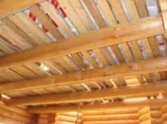 Lining for ceiling wooden