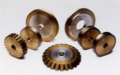 Diamond wheels for machines with ChPU
