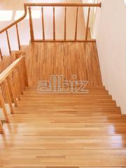 Лестницы деревянные заказать в Ивано-Франковске,