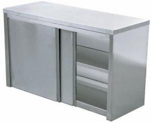 Cases wall of stainless steel from the producer,
