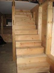 Steps are oak, we make under the order in