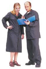 Костюмы для защиты от кислот (суконный и