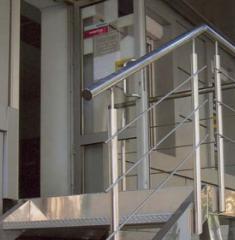 Поручень для лестниц с нержавейки