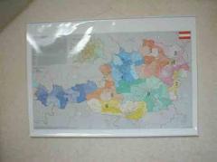 Карта Австрії