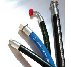 High pressure hose for the clutch hose RVD RVT