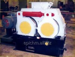 Пресс валковый для производства топливных брикетов