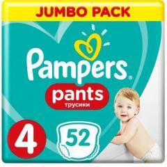 Подгузник Pampers трусики Pants Maxi Размер 4