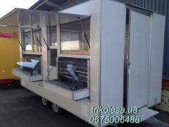 Прицеп торговый с холодильным оборудованием