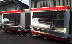 The trailer trade with refrigerating appliances