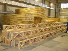 Beams are wooden, to buy Ukraine