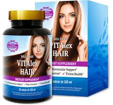 Vitalex Hair (Виталекс Хайр)- капсулы для красоты и здоровья для волос