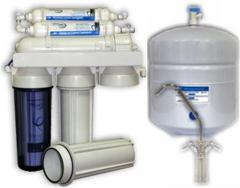Accessories for systems of water purification,